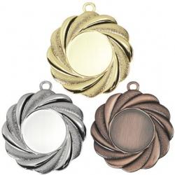 Праздничная медаль с объемным декором