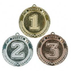 медаль надпись Россия