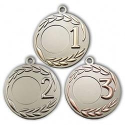 Спортивная медаль с лавровой ветви
