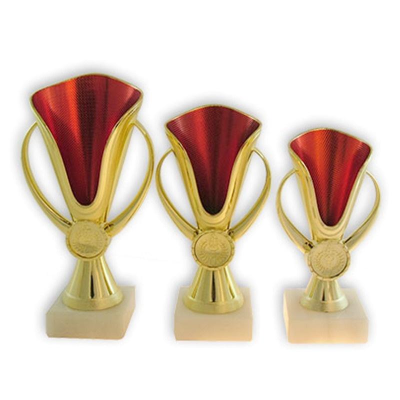Кубок золота с красным