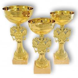 Кубок золотого цвета