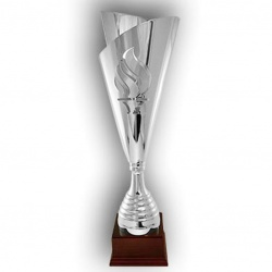 Olympic flame trophy cup
