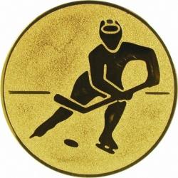 Pastille dorée hockey