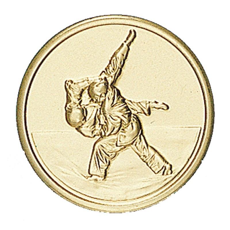 Pastille dorée judo