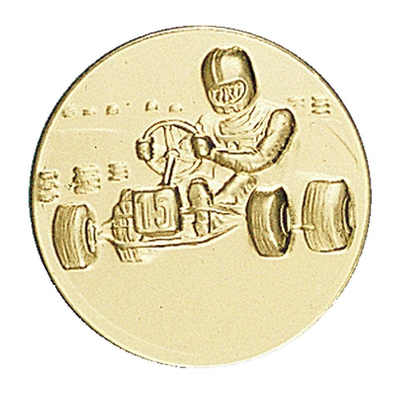 Pastille dorée karting