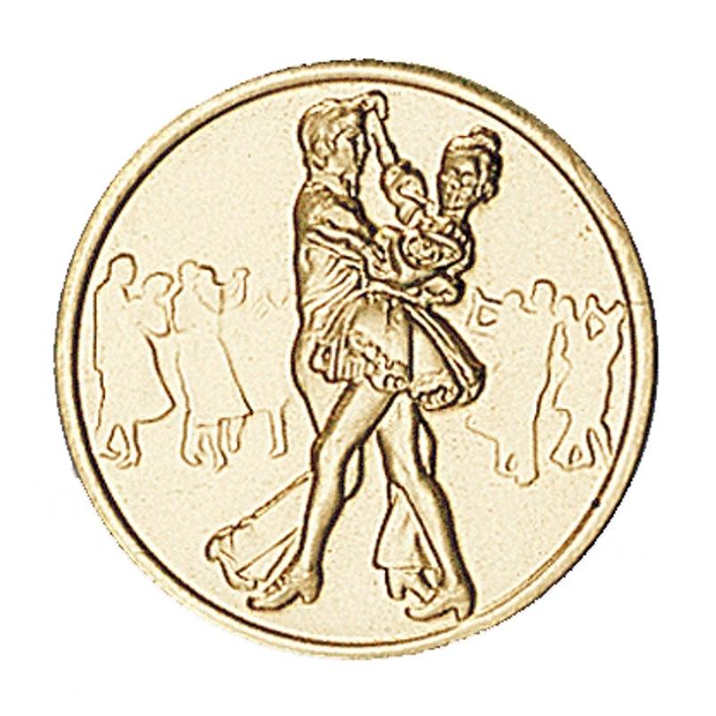 Pastille dorée danse  sportive