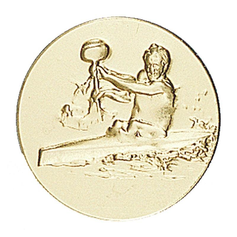 Pastille dorée kayak