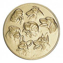 Pastille dorée chiens