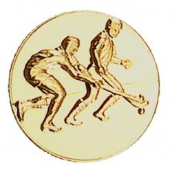 Pastille dorée hockey ball