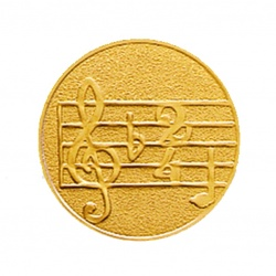 Pastille dorée musique