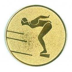Pastille dorée natation femme