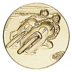 Motorcycle Race Gold Center