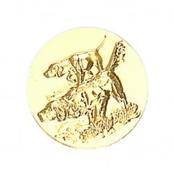 Pastille dorée chiens de chasse