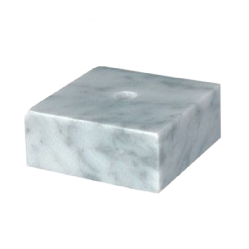 White Trophy Marble Base