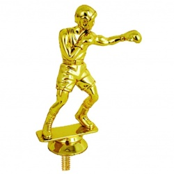 Boxer Trophy Figurine