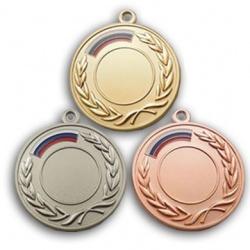 Наградная медаль с лавровыми ветвями