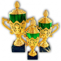 stylized trophy cup