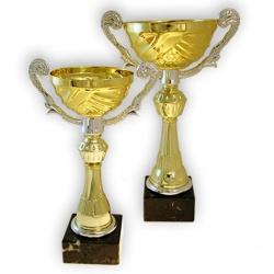Наградной кубок с металлической чашей