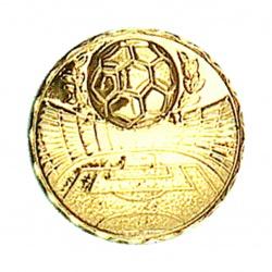 Pastille dorée football