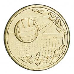 Pastille dorée volleyball