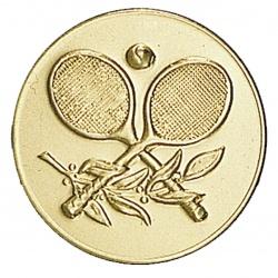 Pastille dorée tennis