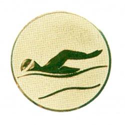 Pastille dorée natation