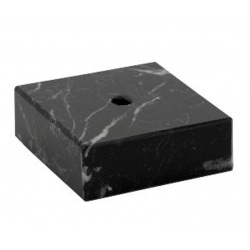 trophies black marble base