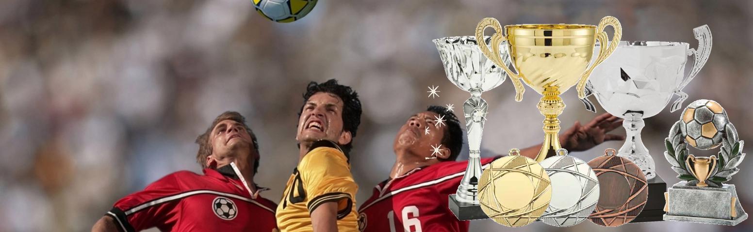 Coupes, médailles et trophées
